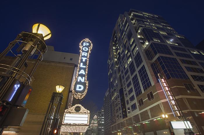 Broadway in Portland